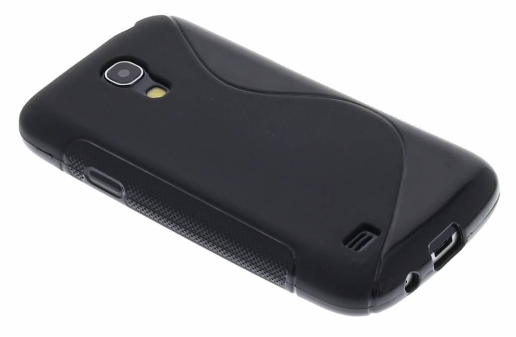 Zwart S-line flexibel TPU hoesje voor de Samsung Galaxy S4 Mini