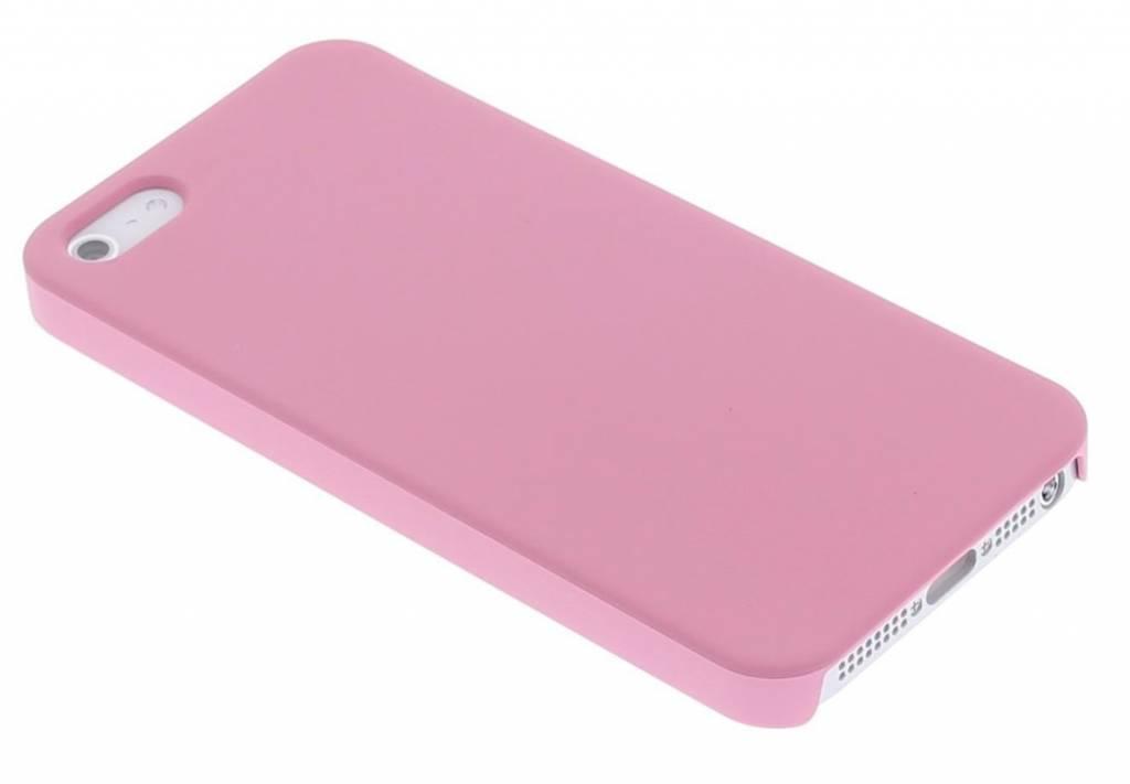 Roze effen hardcase hoesje voor de iPhone 5 / 5s / SE