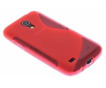 Rosé S-line TPU hoesje Samsung Galaxy S4 Mini
