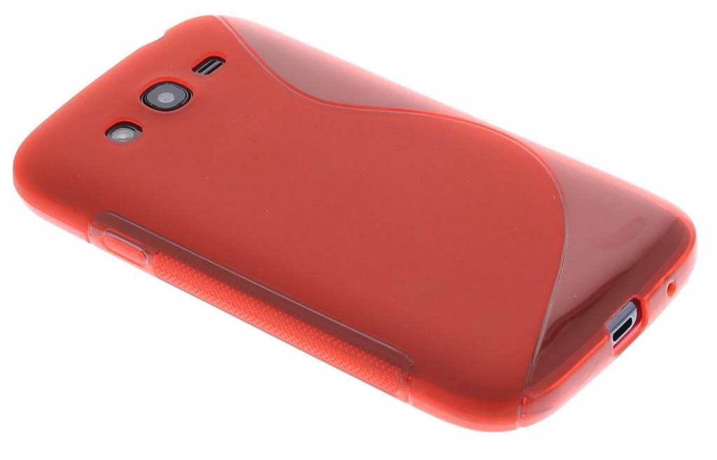 Rood S-line TPU hoesje voor de Samsung Galaxy Grand (Neo)