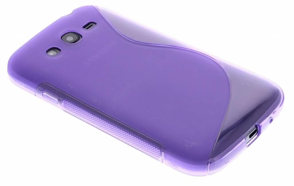 Paars S-line TPU hoesje voor de Samsung Galaxy Grand (Neo)