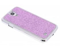 Lila glitter hardcase hoes Samsung Galaxy S4