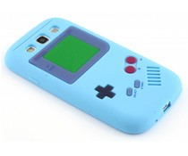 Blauw gameboy siliconen hoesje Galaxy S3 / Neo