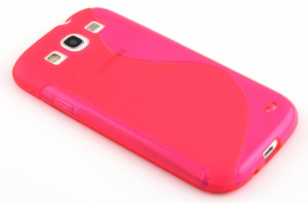 Rosé S-line flexibel TPU hoesje voor de Samsung Galaxy S3 / Neo