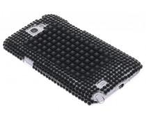 Zwart BlingBling hardcase Samsung Galaxy Note 2