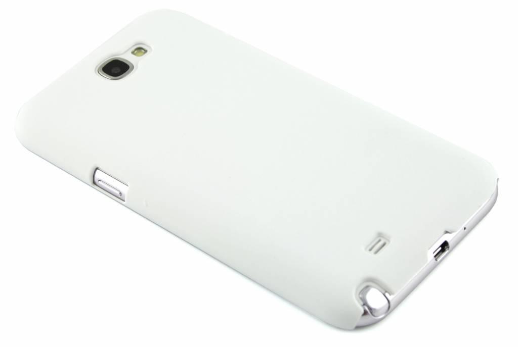 Matte, witgekleurde, dunne hardcase voor de Samsung Galaxy Note 2