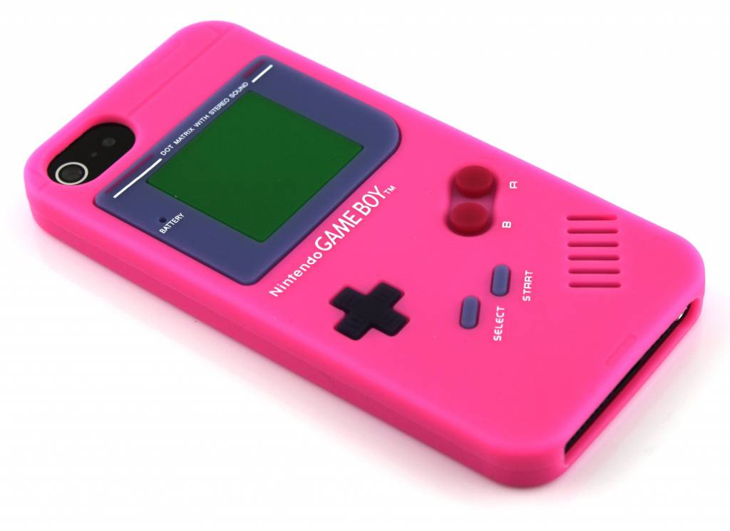 Gameboy siliconen hoesje voor de iPhone 5 / 5s / SE