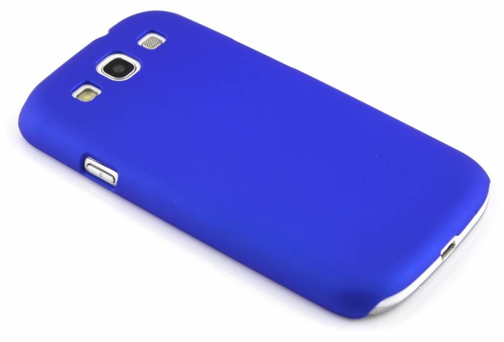 Matte, blauwgekleurde, dunne hardcase voor Samsung Galaxy S3 / Neo