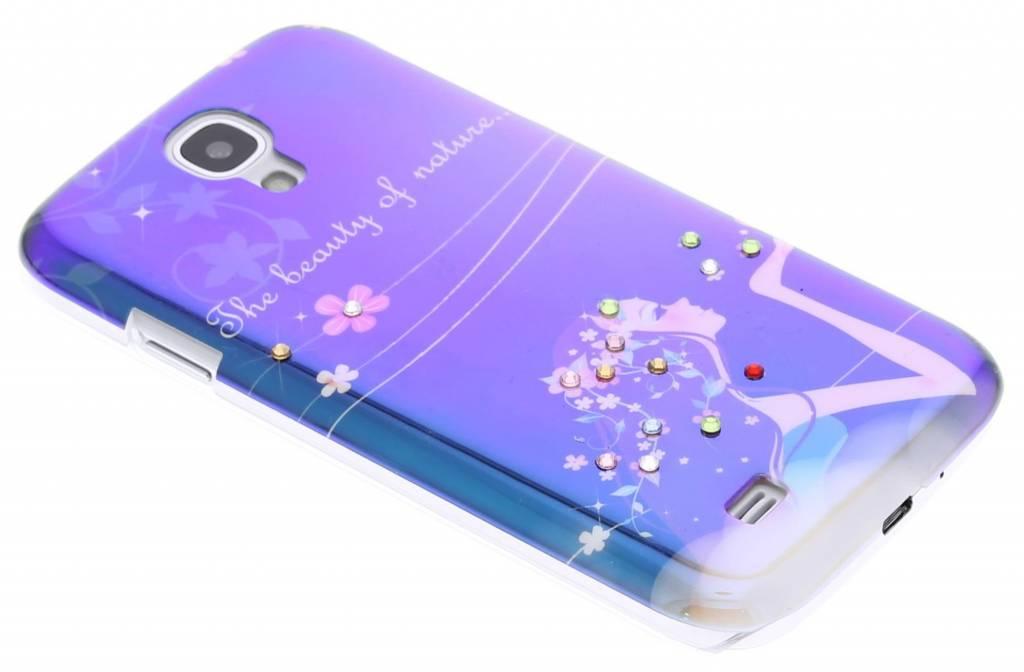 Beauty of nature design spiegelend hardcase hoesje voor de Samsung Galaxy S4
