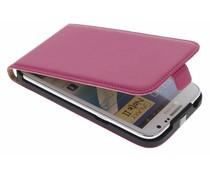Fuchsia luxe flipcase Samsung Galaxy Note 2