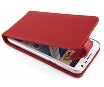 Rood stijlvolle flipcase Samsung Galaxy Note 2