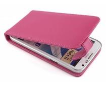 Fuchsia stijlvolle flipcase Samsung Galaxy Note 2