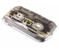 Cassetteband glad hardcase hoesje Galaxy S3 Mini