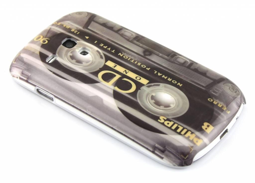 Cassetteband hardcase hoesje voor de Samsung Galaxy S3 Mini i8190