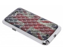 Britse hardcase hoes strass Samsung Galaxy Note 2