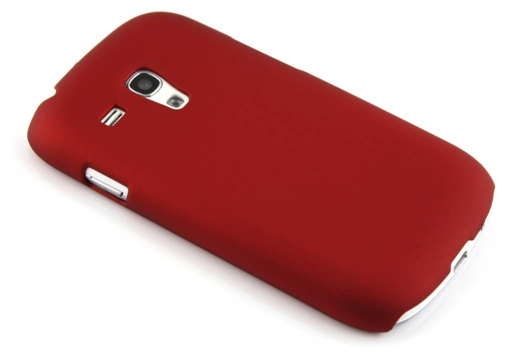rode effen hardcase voor Samsung Galaxy S3 Mini