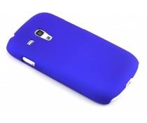Blauw effen hardcase Samsung Galaxy S3 Mini