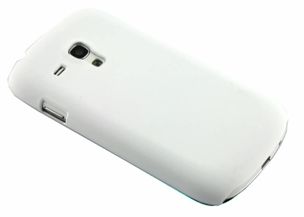Witte effen hardcase voor Samsung Galaxy S3 Mini