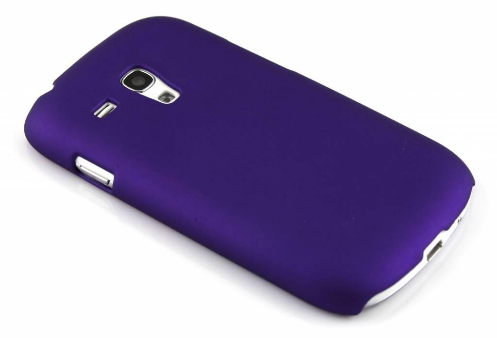 Paarse effen hardcase voor Samsung Galaxy S3 Mini