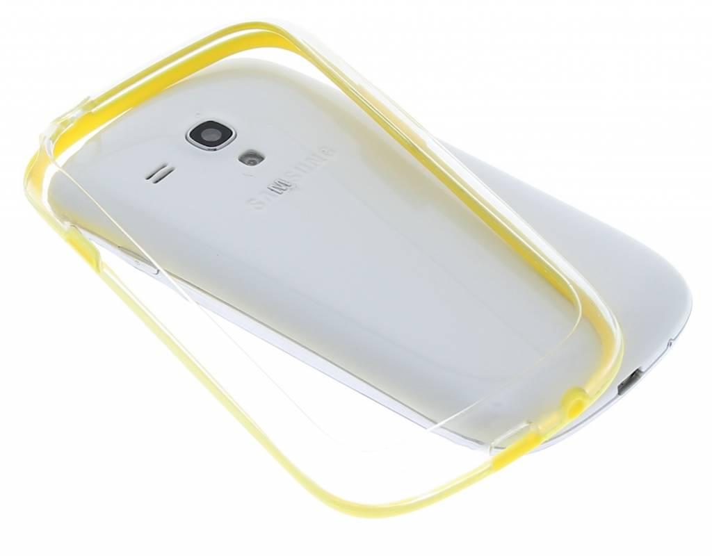 Stevige transparante bumper voor de Samsung Galaxy S3 Mini