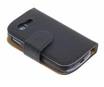 Zwart effen booktype Samsung Galaxy Pocket Neo