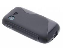 Zwart S-Line TPU hoes Samsung Galaxy Pocket Neo