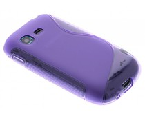 Paars S-Line TPU hoes Samsung Galaxy Pocket Neo
