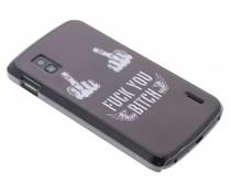 Mat stoer design hardcase hoesje LG Nexus 4