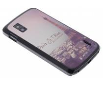 Mat Parijs design hardcase hoesje LG Nexus 4