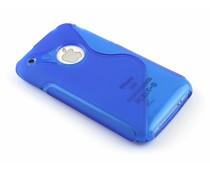 Blauw S-line TPU hoesje iPhone 3gs