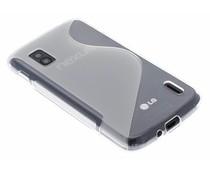 Transparant S-line TPU hoesje LG Nexus 4