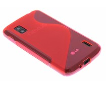 Rosé S-line TPU hoesje LG Nexus 4