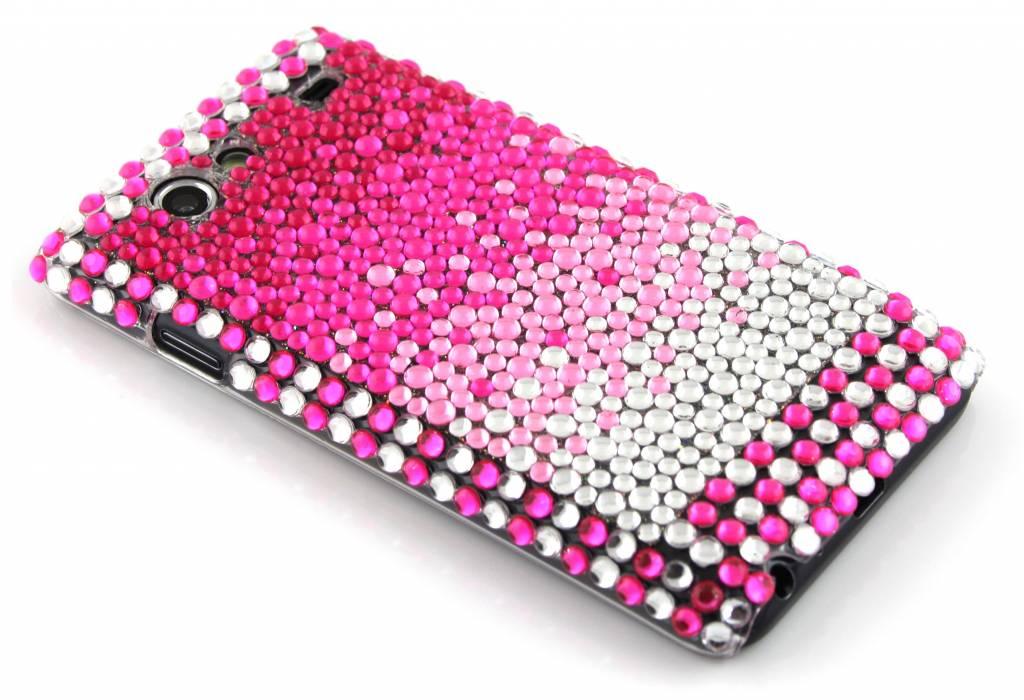 BlingBling hardcase hoesje met strass steentjes voor de Samsung Galaxy S Advance i9070