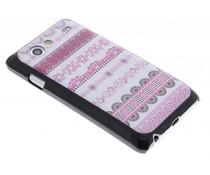 Roze design hardcase hoes Samsung Galaxy S Advance