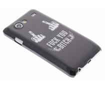Stoer design hardcase hoes Samsung Galaxy S Advance