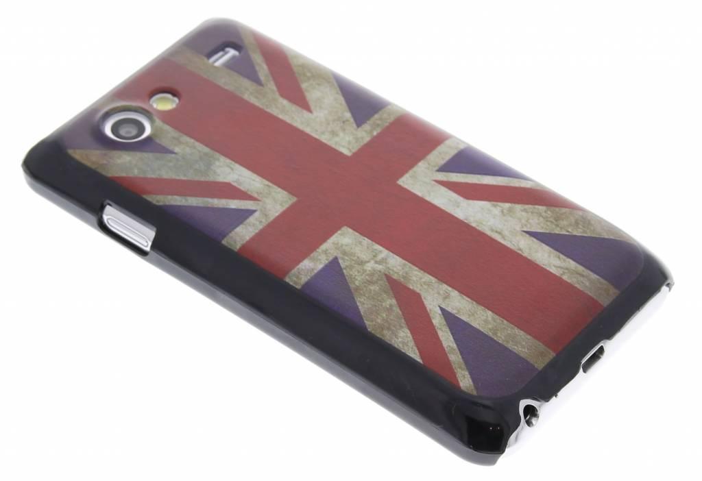 Vintage Brits design hardcase hoes voor de Samsung Galaxy S Advance i9070
