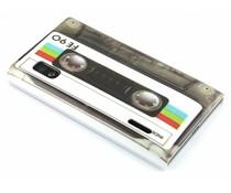 Cassettebandje glad hardcase hoesje LG Optimus L5