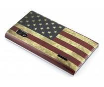 Amerikaans glad hardcase hoesje LG Optimus L5