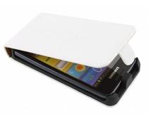 Ribbelige flipcase Galaxy S Advance