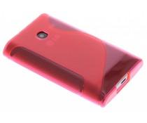 Rosé S-line TPU siliconen hoesje LG Optimus L3
