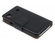 Zwart booktype hoes Samsung Galaxy S (plus)