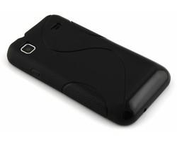 Zwart S-line TPU hoesje Samsung Galaxy S / Plus