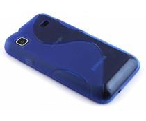 Blauw S-line TPU hoesje Samsung Galaxy S / Plus