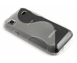 Transparant S-line TPU hoesje Samsung Galaxy S / Plus