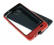 Rood bumper Samsung Galaxy S2 (Plus)