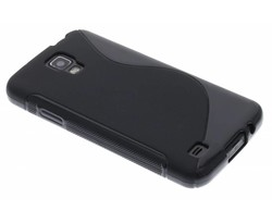 Zwart S-line TPU hoesje Samsung Galaxy S4 Active