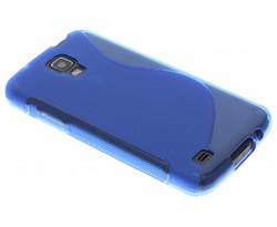 Blauw S-line TPU hoesje Samsung Galaxy S4 Active