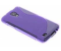Paars S-line TPU hoesje Samsung Galaxy S4 Active