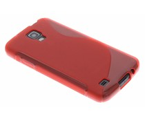 Rood S-line TPU hoesje Samsung Galaxy S4 Active