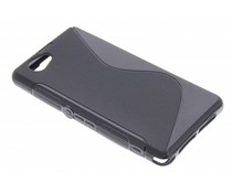 Zwart S-line TPU hoesje Sony Xperia Z1 Compact